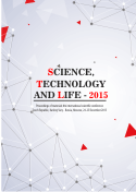 SCIENCE, TECHNOLOGY AND LIFE – 2015