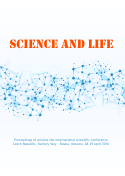 SCIENCE AND LIFE: Proceedings of articles the international scientific conference. Czech Republic, Karlovy Vary - Russia, Moscow, 28-29 April 2016
